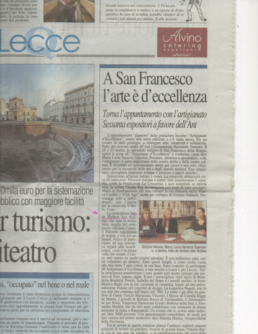 Quotidiano di Lece maggio2011